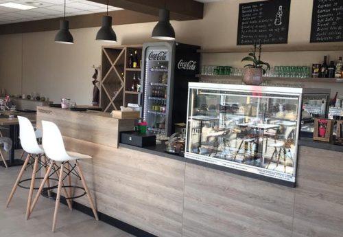 Kavárna Šestajovice kompletní interiér