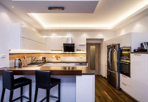Kuchyně bytový dům Praha 5
