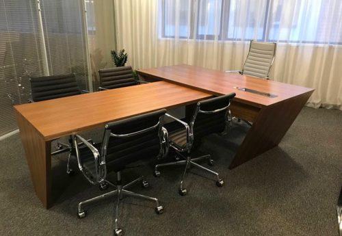 Kancelářský nábytek Praha, business centrum Karlín